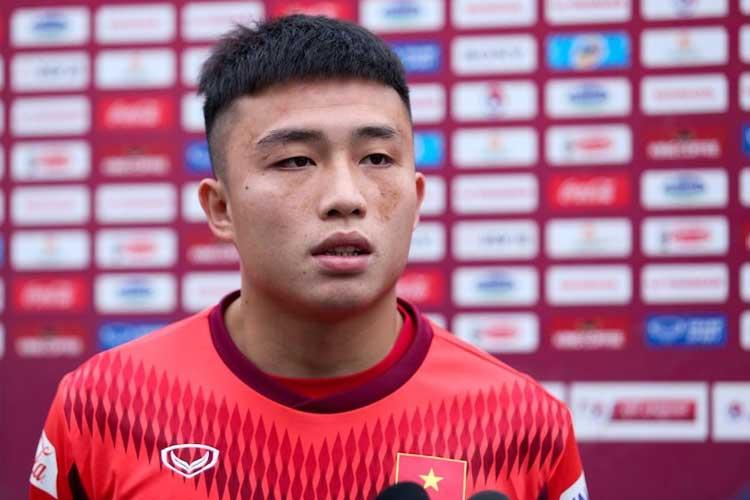 Hậu vệ trái đặc biệt Văn Việt muốn đối đầu với ĐT Việt Nam