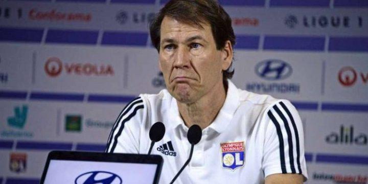 Rudi Garcia mất ghế tại Lyon vì để đội bóng tiếp tục trượt dài trong thất bại